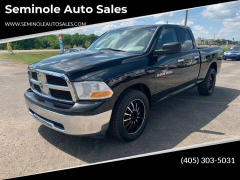 2012 RAM Ram Pickup 1500 for sale at Seminole Auto Sales in Seminole OK
