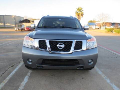 2015 Nissan Armada for sale at MOTORS OF TEXAS in Houston TX