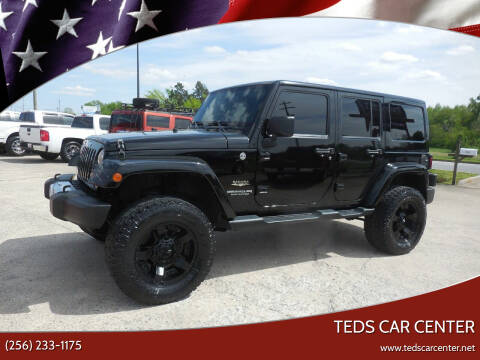 2014 Jeep Wrangler Unlimited for sale at TEDS CAR CENTER in Athens AL