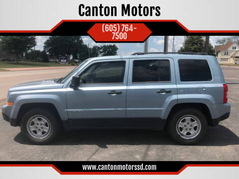 2013 Jeep Patriot for sale at Canton Motors in Canton SD