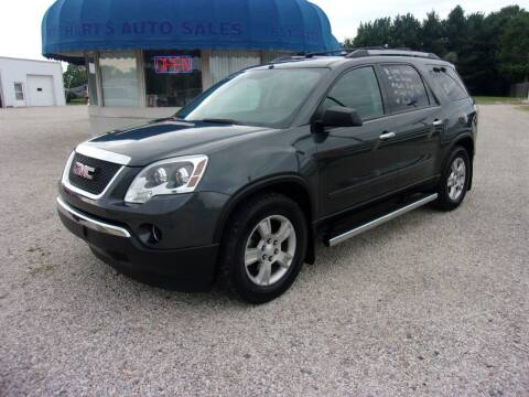 2011 GMC Acadia for sale at Marty Hart's Auto Sales in Sturgis MI