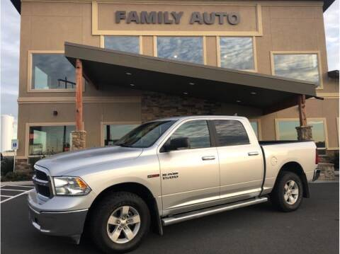 2018 RAM Ram Pickup 1500 for sale at Moses Lake Family Auto Center in Moses Lake WA