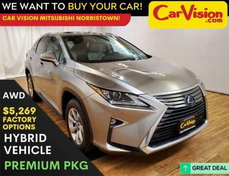 2018 Lexus RX 450h for sale at Car Vision Mitsubishi Norristown in Trooper PA