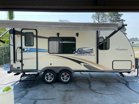 2014 Forest River Freedom Express 191 for sale at Vanns Auto Sales in Goldsboro NC