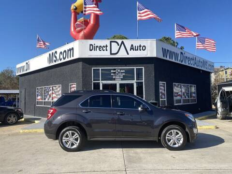 2016 Chevrolet Equinox for sale at Direct Auto in D'Iberville MS