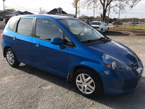 2008 Honda Fit for sale at Cherry Motors in Greenville SC