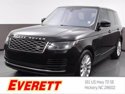 2018 Land Rover Range Rover for sale at Everett Chevrolet Buick GMC in Hickory NC