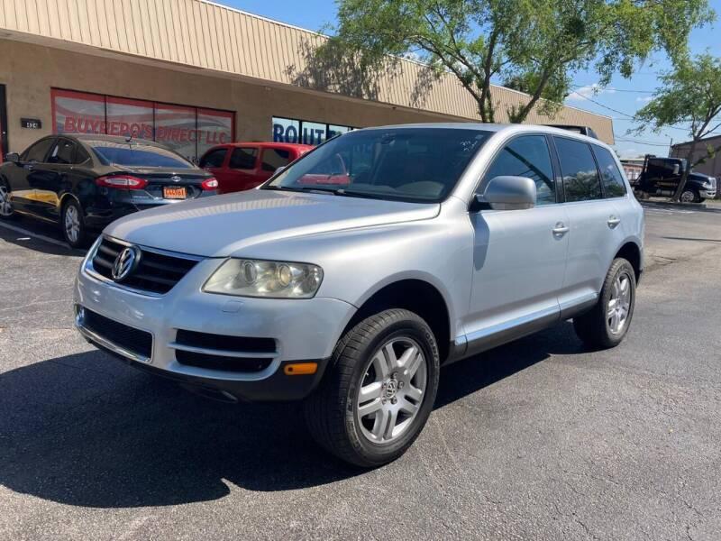 2004 Volkswagen Touareg for sale at Top Garage Commercial LLC in Ocoee FL