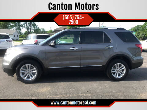 2014 Ford Explorer for sale at Canton Motors in Canton SD