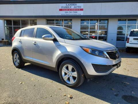 2012 Kia Sportage for sale at Landes Family Auto Sales in Attleboro MA