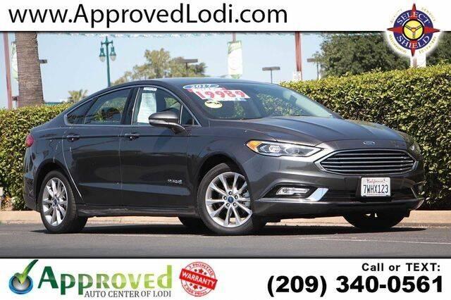 2017 Ford Fusion Hybrid for sale in Lodi, CA