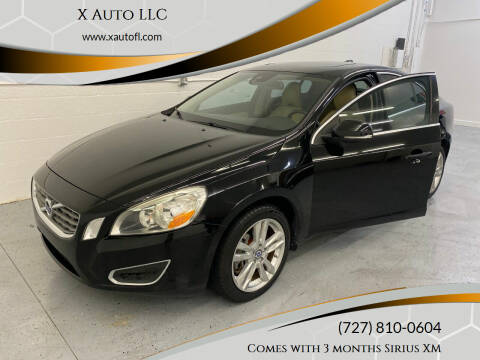 2012 Volvo S60 for sale at X Auto LLC in Pinellas Park FL