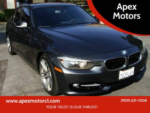 2014 BMW 3 Series for sale at Apex Motors in Montclair CA