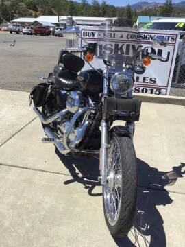 2009 Harley XL 1200C for sale at Siskiyou Auto Sales in Yreka CA