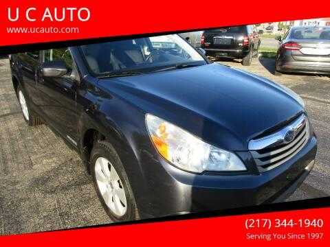 2011 Subaru Outback for sale at U C AUTO in Urbana IL