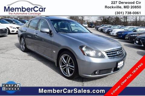 2007 Infiniti M35 for sale at MemberCar in Rockville MD