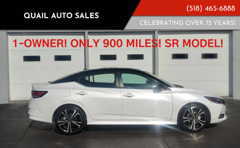 2020 Nissan Sentra for sale at Quail Auto Sales in Albany NY
