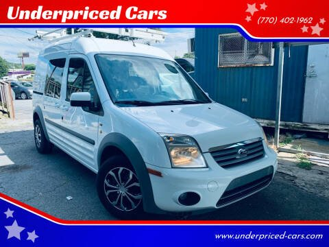 2013 Ford Transit Connect for sale at Underpriced Cars in Marietta GA