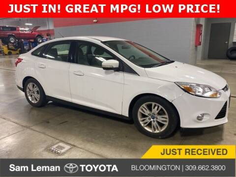 2012 Ford Focus for sale at Sam Leman Toyota Bloomington in Bloomington IL