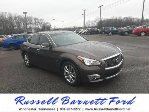 2018 Infiniti Q70 for sale at Oskar  Sells Cars in Winchester TN