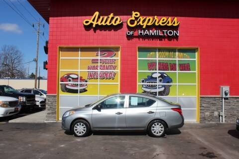 2013 Nissan Versa for sale at AUTO EXPRESS OF HAMILTON LLC in Hamilton OH