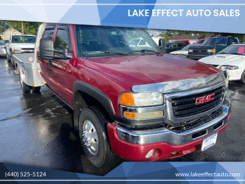 2007 GMC Sierra 3500 Classic for sale at Lake Effect Auto Sales in Chardon OH