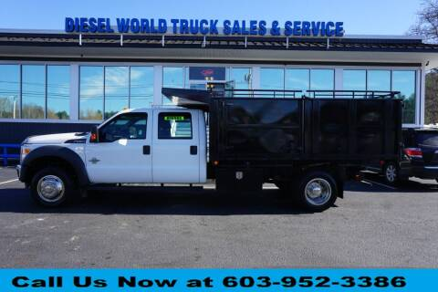 2012 Ford F-550 Super Duty for sale at Diesel World Truck Sales in Plaistow NH