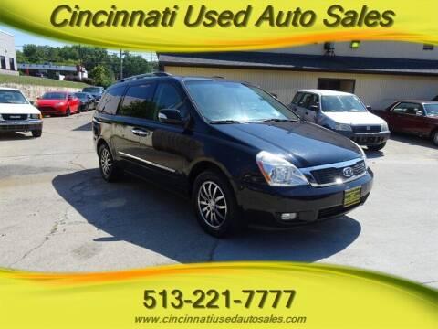 2012 Kia Sedona for sale at Cincinnati Used Auto Sales in Cincinnati OH