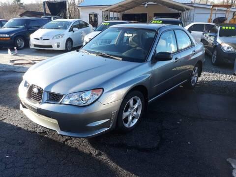 2007 Subaru Impreza for sale at Rocket Center Auto Sales in Mount Carmel TN