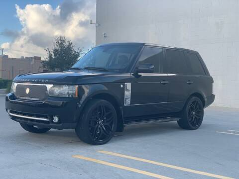 2010 Land Rover Range Rover for sale at Santos Autos in Bradenton FL