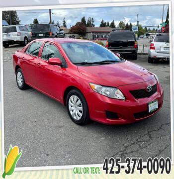2010 Toyota Corolla for sale at Corn Motors in Everett WA