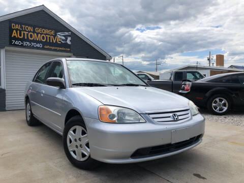 2003 Honda Civic for sale at Dalton George Automotive in Marietta OH