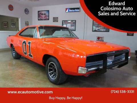 1969 Dodge Charger for sale at Edward Colosimo Auto Sales and Service in Evans City PA