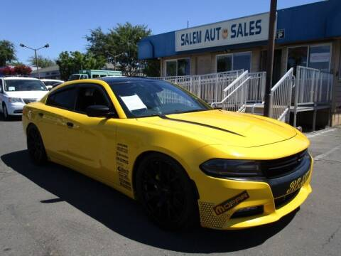 2018 Dodge Charger for sale at Salem Auto Sales in Sacramento CA