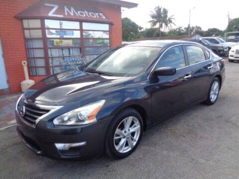 2014 Nissan Altima for sale at Z Motors in North Lauderdale FL