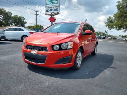 2013 Chevrolet Sonic for sale at BAYSIDE AUTOMALL in Lakeland FL