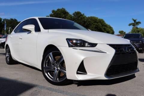 2018 Lexus IS 300 for sale at OCEAN AUTO SALES in Miami FL