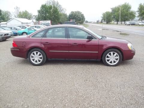 2005 Ford Five Hundred for sale at BRETT SPAULDING SALES in Onawa IA