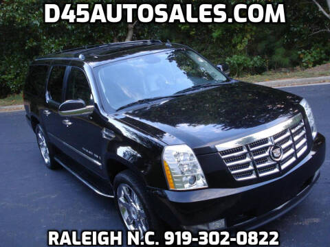 2009 Cadillac Escalade ESV for sale at D45 Auto Brokers in Raleigh NC