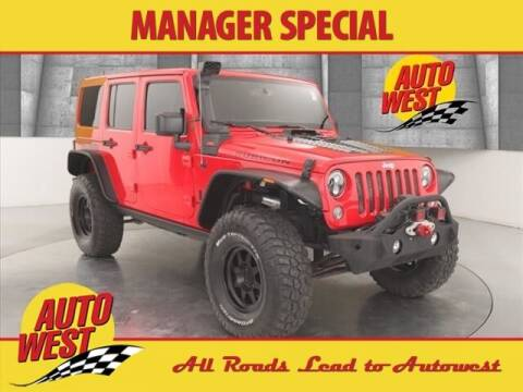 2016 Jeep Wrangler Unlimited for sale at Autowest of GR in Grand Rapids MI