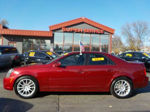 2007 Cadillac CTS for sale at Super Service Used Cars in Milwaukee WI