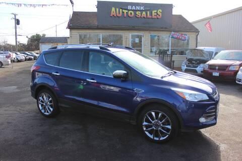 2016 Ford Escape for sale at BANK AUTO SALES in Wayne MI