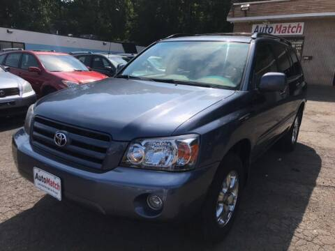 2007 Toyota Highlander for sale at Auto Match in Waterbury CT