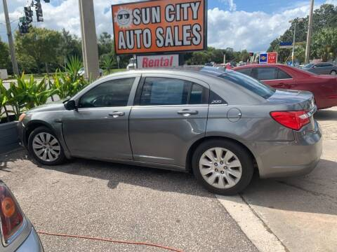 2012 Chrysler 200 for sale at Sun City Auto in Gainesville FL