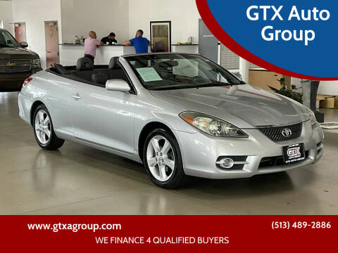 2007 Toyota Camry Solara for sale at GTX Auto Group in West Chester OH