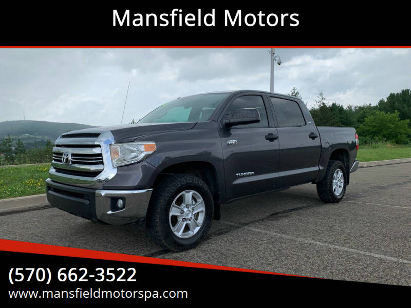 2016 Toyota Tundra for sale at Mansfield Motors in Mansfield PA