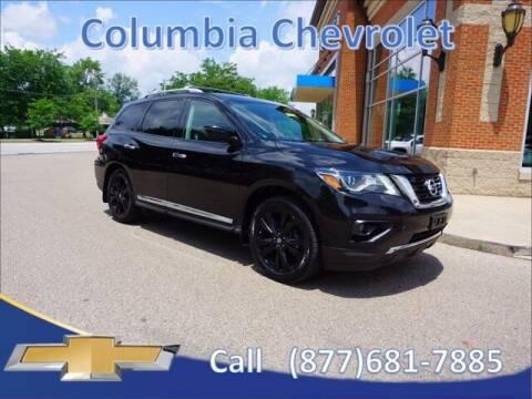 2017 Nissan Pathfinder for sale at COLUMBIA CHEVROLET in Cincinnati OH