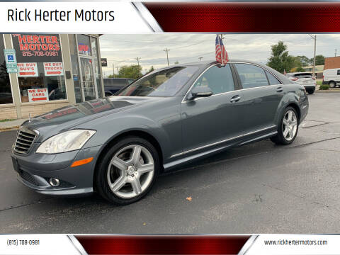 2008 Mercedes-Benz S-Class for sale at Rick Herter Motors in Loves Park IL