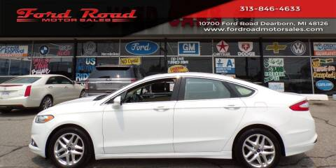 2013 Ford Fusion for sale at Ford Road Motor Sales in Dearborn MI