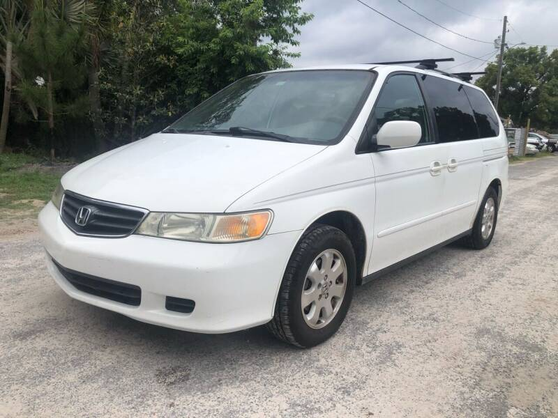 2002 Honda Odyssey for sale at OVE Car Trader Corp in Tampa FL